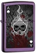 Зажигалка широкая Zippo Ace/Death 24747