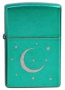 Зажигалка широкая Zippo Moon&Stars (490.043) 21066