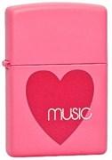 Зажигалка  Zippo Heart Music 24014