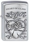 Зажигалка Zippo 200 Heart of Glass Emblem