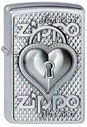 Зажигалка Zippo 200 Zippo Heart Forever Emblem