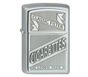 Зажигалка Zippo 205 Cigarettes Trick Emblem