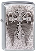 Зажигалка Zippo 200 Cross w/Wings Emblem