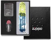 Подарочный набор Zippo Россия Охота на вепря