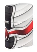 Зажигалка Zippo Flame Design с покрытием White Matte 49357