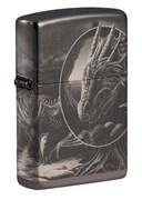 Зажигалка ZIPPO Lisa Parker с покрытием High Polish Black 49287