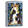 Широкая зажигалка Zippo Leppard 24567 - фото 4865