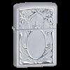 Широкая зажигалка Zippo Scrolled Mirror 21137 - фото 4958