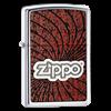 Широкая зажигалка Zippo Spiral 24804 - фото 4996