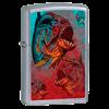 Широкая зажигалка Zippo Piranha 24885 - фото 6099