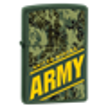 Широкая зажигалка Zippo ARMY/ green matte 24828 - фото 7021