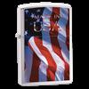 Широкая зажигалка Zippo Made Im Usa Flag 24797 - фото 7122