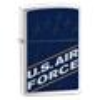 Широкая зажигалка Zippo Us Air Force 24827 - фото 7163