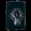 Зажигалка широкая Zippo Black Wolf 28001 - фото 7368